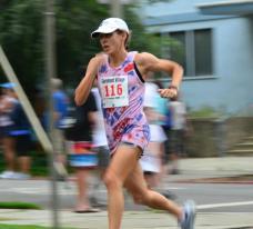Sheila running FAST