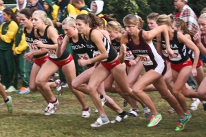 In a crowd of runners, you must control your thoughts!  (photo: Biola University)