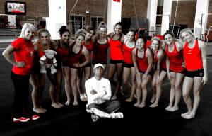 Utah Gymnastics Team 2014 - Pac 12 Champs. NCAA Regionals Champs. And cross fingers - NCAA National Champs. Ha!